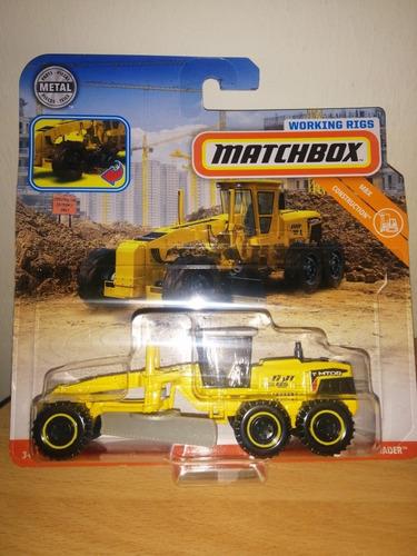 matchbox mbx road grader original