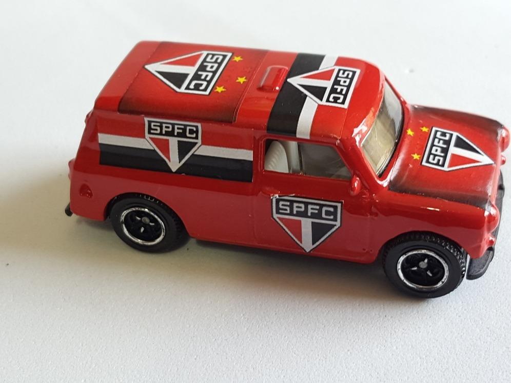 Matchbox Mini Morris Times Do Brasil Spfc Customnovo164 R 49