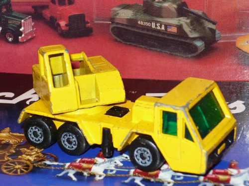 matchbox nº 49 crane truck  a lesney product 1976