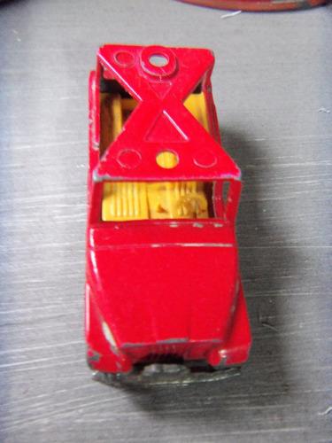 matchbox nº53 jeep 1977 de coleccion