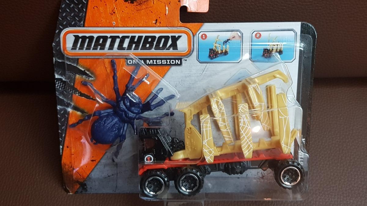 Matchbox On A Mission Fiend Stinger  Transporta Criaturas  - Bs