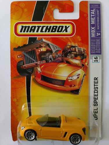 matchbox opel lacrado na cartela novo escala 1.64. mod.raro.
