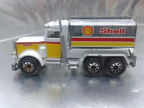 matchbox - peterbilt tanker shell pipa de 1981 #2
