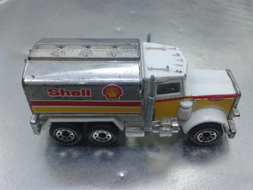 matchbox - peterbilt tanker shell pipa de 1981 #4