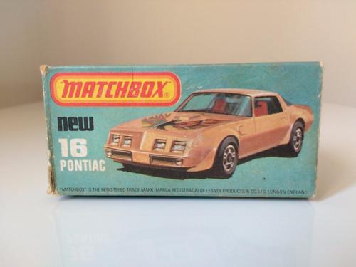 matchbox pontiac 16