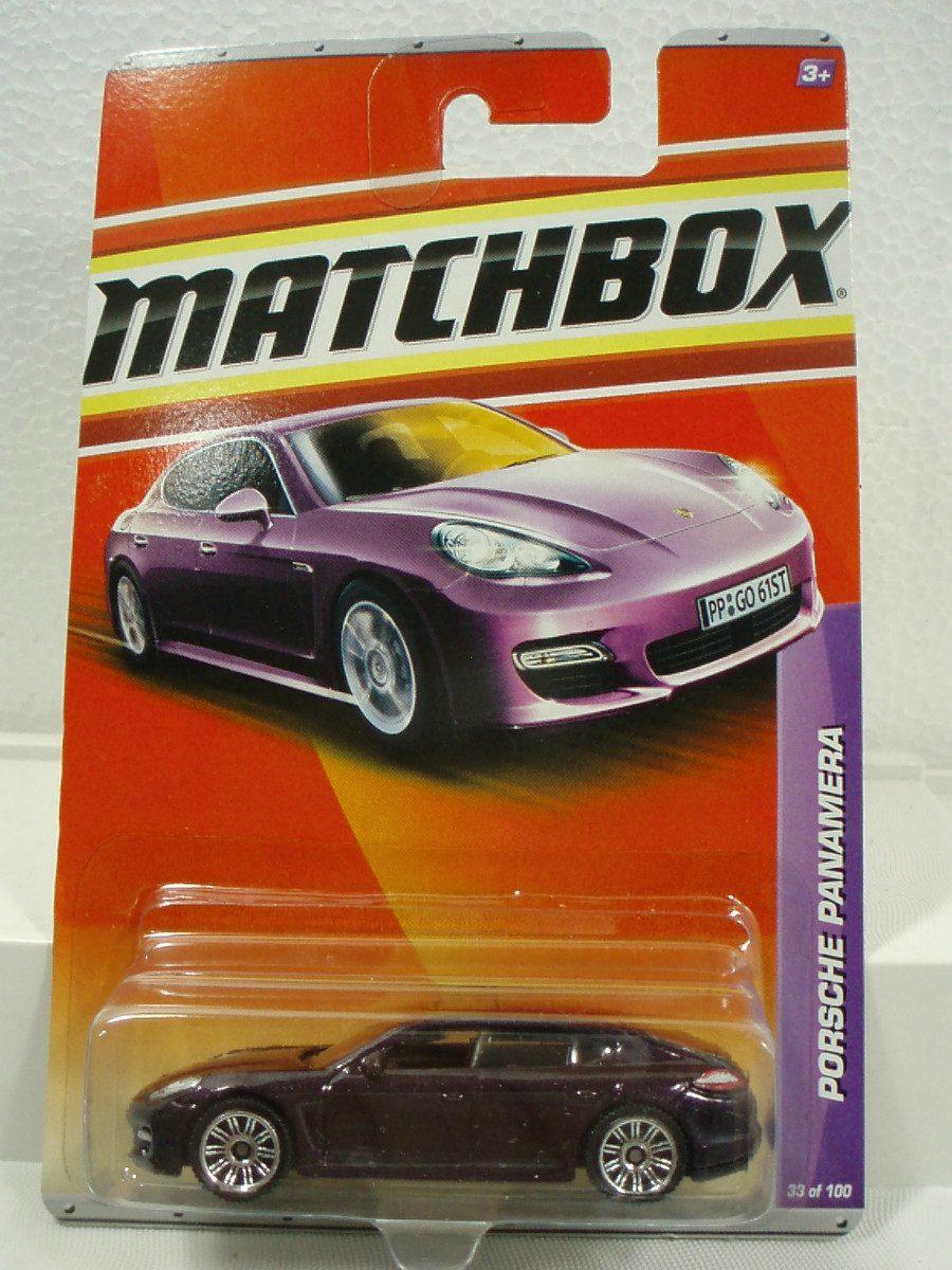 matchbox porsche panamera 33 100 metal 1 64 en mercado libre. Black Bedroom Furniture Sets. Home Design Ideas