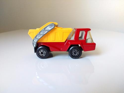 matchbox skip truck