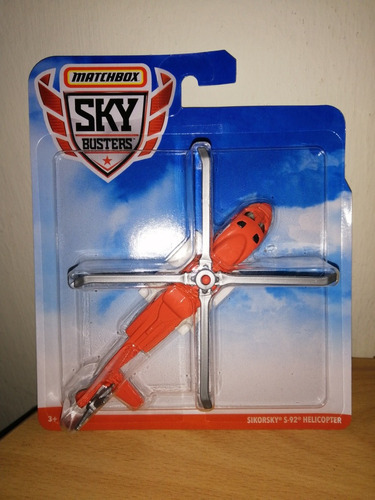 matchbox sky busters original sikorsky s92 helicopter