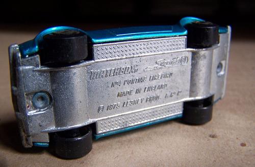 matchbox superfast, pontiac firebird  nº4, 1975, lesney