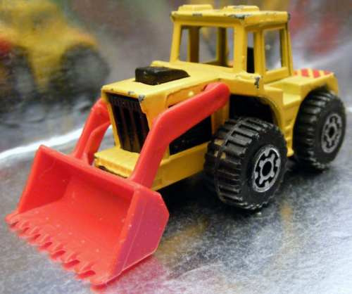 matchbox - tractor shovel #20 made in thailand super fast