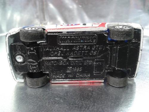 matchbox - vauxhall astra gte opel kadett gsi de 1985
