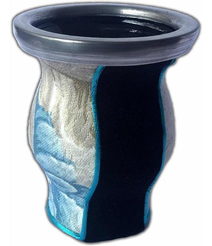mate argentino de vidrio. varios diseños.