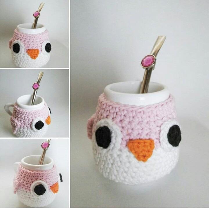 Mate Buho Crochet - $ 240,00 en Mercado Libre