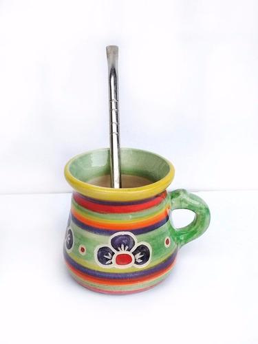 mate ceramica artesanal huasimanta