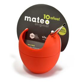 Mate Mateo Original De Silicona C/bombilla Sello Buen Diseño