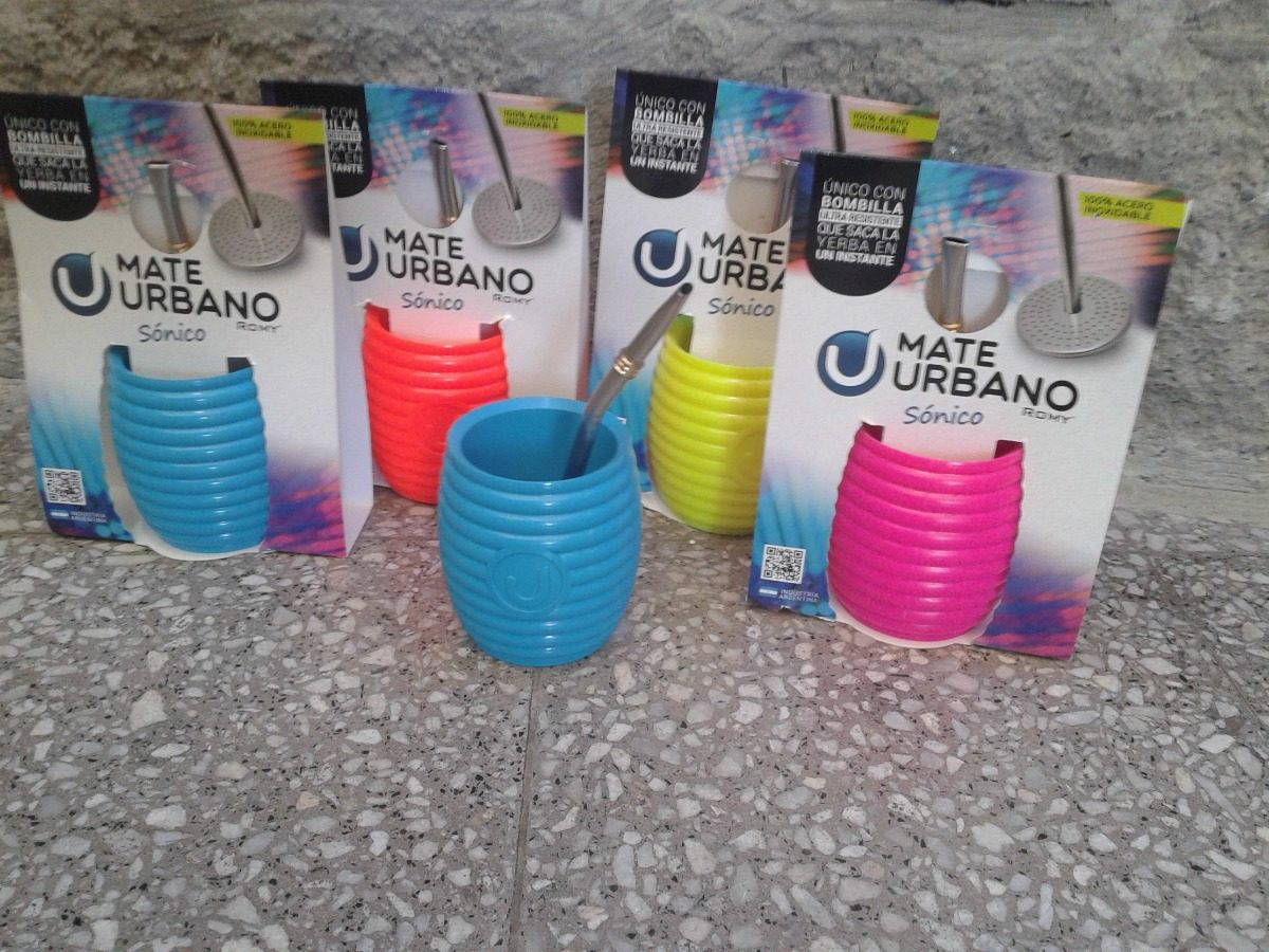 Mate Urbano Sonico Color - $ 150,00 en Mercado Libre