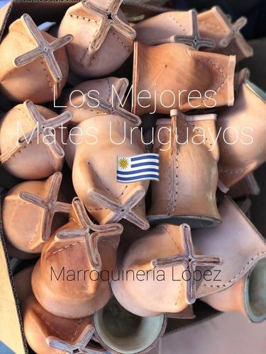 mate uruguayo camionero importado + bombillon pico loro top