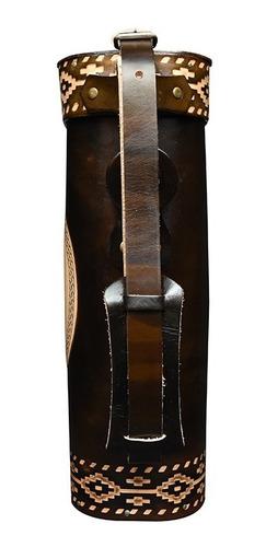 mateira chimarrao tradicional couro legítimo 1l brinde