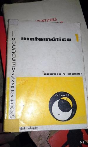 matemática 1 cabrera y medici