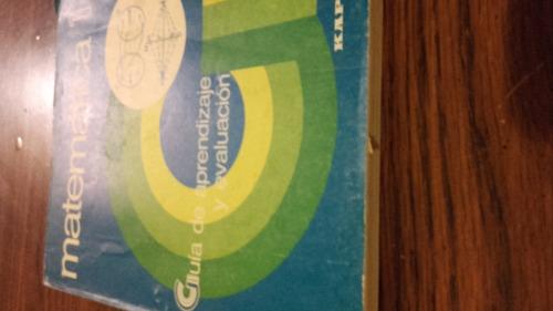 matematica 1 guia de aprendizaje y evaluacion