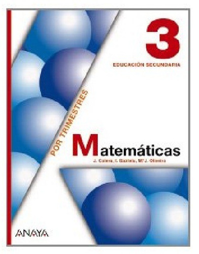 matemática 1 liceo - josé cólera - ignacio gaztelu - anaya