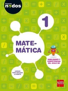 matematica 1 - nodos - anillado  - ediciones sm