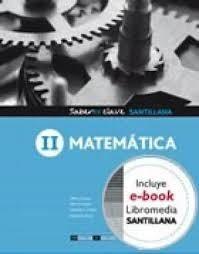 matematica 2 saberesclave santillana usado  lchv