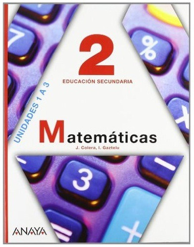 matemática 3 liceo - josé cólera - ignacio gaztelu - anaya