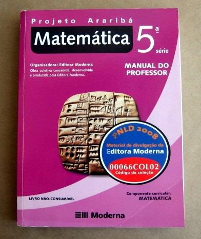 matemática - 5a série - projeto araribá
