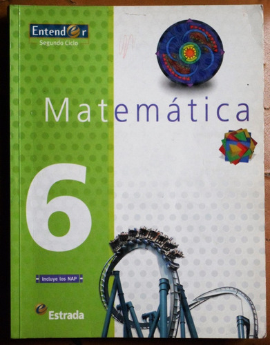 matemática 6 (serie entender) / ed. estrada 2008