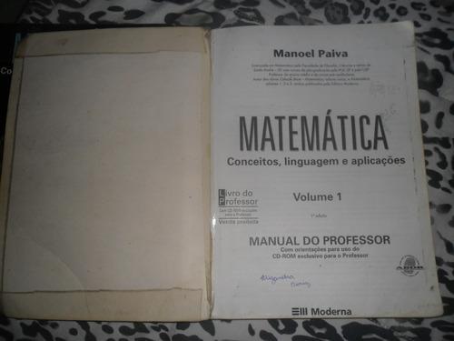 matemática conceitos, linguagens e aplicações manoel paiva 1