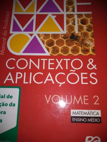 matemática contexto & aplicações vol 2 professor - dante
