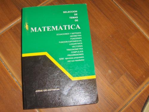 matematica de 4to año de bachillerato de hoffman nuevo