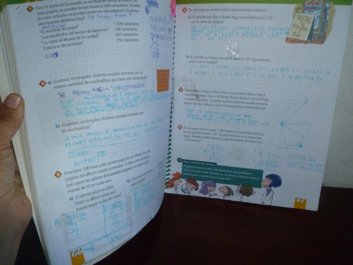 Matemática En Cuarto 4°- Editorial Santillana - $ 80,00 en Mercado Libre