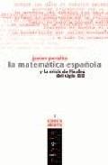 matematica española y la crisis de finales del siglo xix la