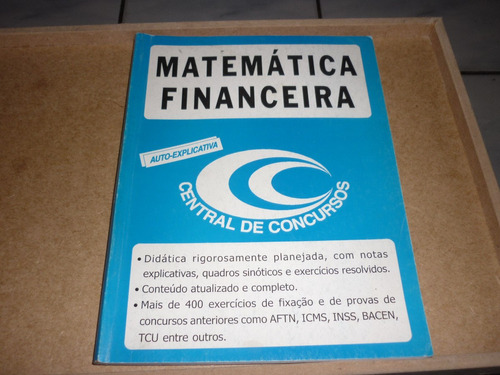 matemática financeira  central de concursos