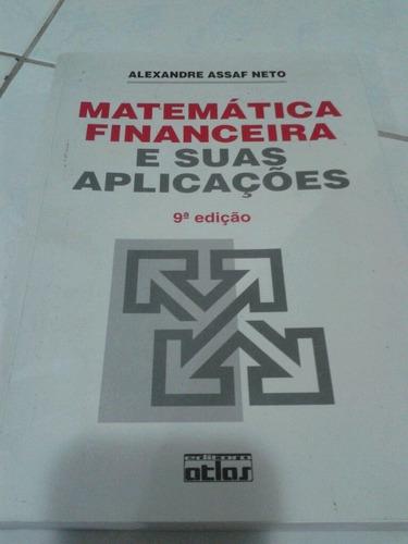 matemática financeira e suas aplicações nona edição alexandr