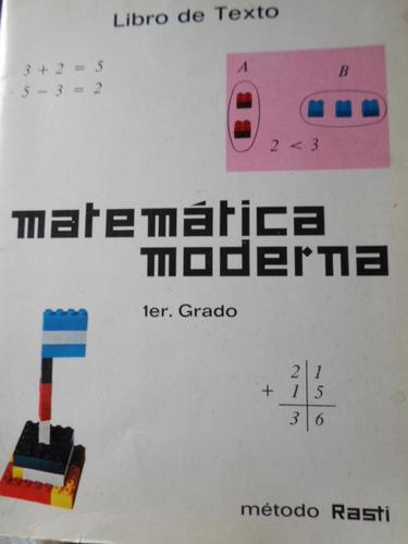 matematica moderna 1 er grado metodo rasti