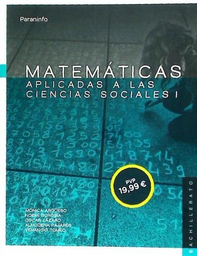 matemáticas aplicadas a las ciencias sociales i, 1º bachille