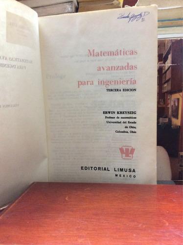 matemáticas avanzadas para ingeniería - erwin kreyszig