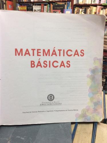 matematicas básicas. adelina ocaña