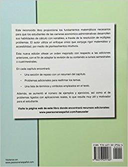 matemáticas para administrac y economia / haeussler / pearso