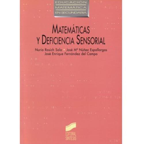 matemáticas y deficiencia sensorial - nuria rosich sala