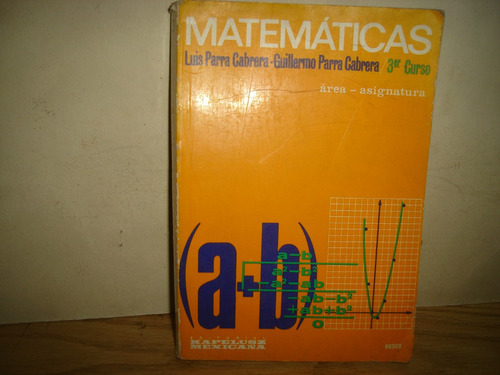 matemáticas3  - luis parra cabrera, guillermo parra cabrera
