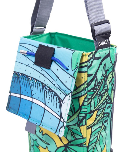 matera de diseño chilly hawaiian bolso matero mantel