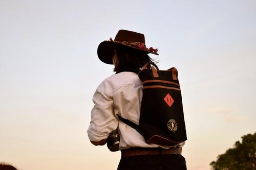 matera mochila bolso matero legion extranjera impermeable