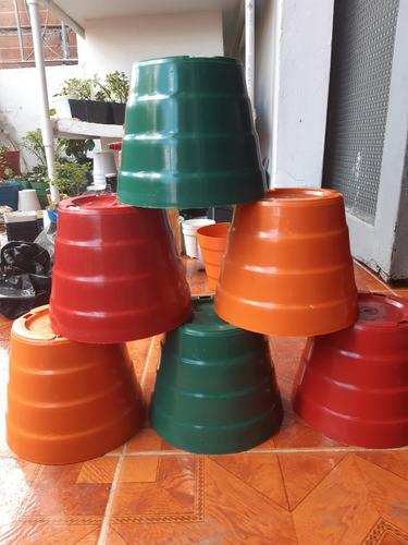 materas plasticas p14 - 25 unidades
