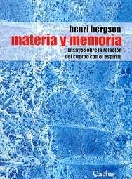 materia y memoria, h. bergson