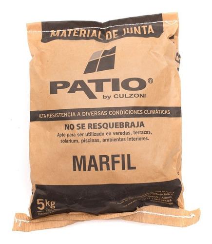 material de junta bordes de piscinas patio bolsa x 5 kilos
