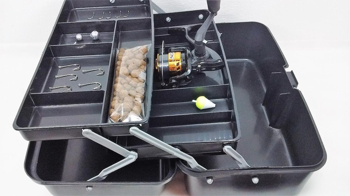 Material De Pesca Completo Suporta 10kg Rio Pesqueiro Barato - R$ 89 ...